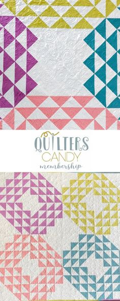modern geometric quilt pattern, baby quilt, quilting membership, quilt pattern membership, get this pattern for free when you complete projects from the membership, join the quilting community