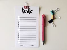 No Excuses: 20 Free Printable To-Do Lists via Brit + Co