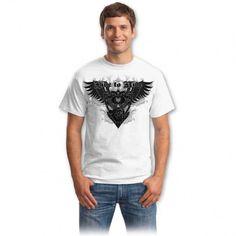 Tricouri cu vulturi– Tricou True motorstyle Mens Tops, T Shirt, Fashion, Supreme T Shirt, Moda, Tee Shirt, Fashion Styles, Fashion Illustrations, Tee