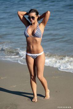 carmen-electra-joggong-bikini