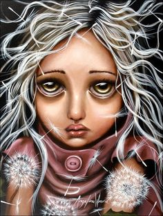 big eyes paintings - Google Search