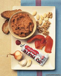 """Spicy Red Pepper and Walnut Dip 
