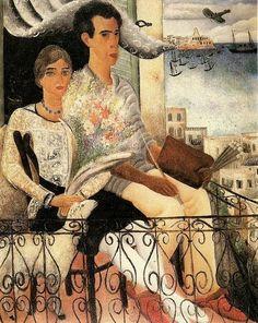 Rubin, Reuven (1893-1974) - 1929 The Betrothed by RasMarley, via Flickr