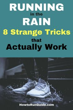 Running in the Rain - 8 Weird Hacks that Actually Work. Make running in the rain suck less with these strange tricks runners swear by. Running Humor, Running Motivation, Running Workouts, Running Training, Running Tips, Trail Running, Triathlon Training, Training Plan, Training Programs
