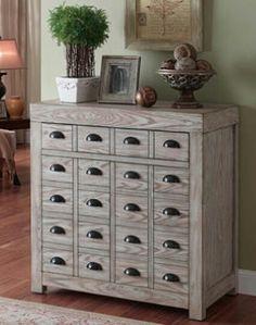 20 drawer cupboard