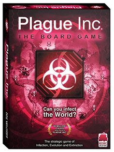 Board game based on the widely successful video game Have fun infecting the world with friends The game is easy to learn, fast to set up and the intuitive game