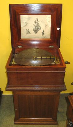 Antique Disc Music Boxes