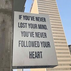 Lose Your Mind, Trust Your Gut, Trust Yourself, Live For Yourself, Self Quotes, Words Quotes, Passion Meaning, Follow Your Heart, Following Your Heart Quotes