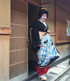 芸妓の紗月さん at 祇園甲部始業式|Marie(マリー)の日々