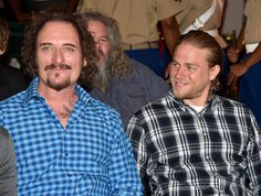 Kim Coates Photos - Actors Kim Coates (L) and Charlie Hunnam attend Cast of FX's 'Sons of Anarchy' Host 'Boot Bash' benefiting The Boot Campaign at The Bunker Lofts on August 2014 in Los Angeles, California. - 'Sons of Anarchy' Cast Hosts a Boot Bash Sons Of Anarchy Cast, Sons Of Arnachy, Kim Coates, Sons Of Anarchy Motorcycles, Final S, Charlie Hunnam Soa, Jax Teller, Downey Junior, Man Photo