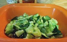 Cucumbers With Scallions & Chili Oil Recipe - Recipezazz.com