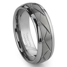 Tungsten Carbide Diamond Cut Groove Newport Wedding Band Ring Sz 13.0 SN#728 Titanium Kay http://www.amazon.com/dp/B004UJKNOA/ref=cm_sw_r_pi_dp_m8L2ub14TQ0AP