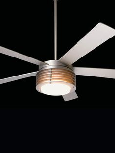 Pharos - matte nickel Ceiling Fans, Ceiling Lights, Modern Fan, Modern Ceiling, Lighting, Home Decor, Ceiling Fan, Decoration Home, Room Decor