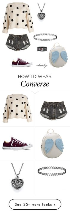 """""""Dream look inspired by a dream I had"""" by lexiahyo on Polyvore featuring Converse, Forever 21, Chicnova Fashion, women's clothing, women's fashion, women, female, woman, misses and juniors"""