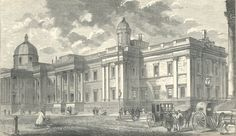 The Royal Academy, Trafalgar Square, 1862', from William Sandby's, 'The history of the Royal Academy of Arts', London [1862]