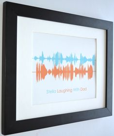 My baby's laugh, unique voice message gift for dad husband, fathers day gifts, birthday gift for dad from daughter christimas gift ideas