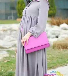 Hijab Casual, Hijab Style, Hijab Chic, Abaya Fashion, Muslim Fashion, Fashion Dresses, Hijab Dress, Hijab Outfit, Mode Abaya