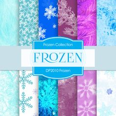 Frozen Digital Paper FROZEN DIGITAL PAPER by DigitalPaperStore