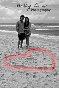 #engagement #couple #love #photography #beach www.facebook.com/AshleyDennisPhotography