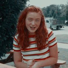 Stranger Things Fotos, Eleven Stranger Things, Stranger Things Netflix, Teen Wolf, Sadie Sink, Mad Max, Millie Bobby Brown, Red Hair, Actors & Actresses