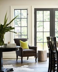 Finding Fabulous: Inspiration...black painted french doors