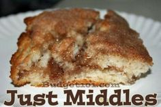 """""""Just Middles"""" is a variation of our family's favorite cinnamon roll recipe. However, We were camping and we didn't exactly have space to at..."""