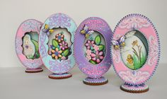 3-D Fabergé Easter Egg Cookies by Julia M. Usher, www.juliausher.com