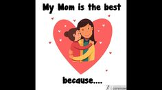 I Love My Mum [Inspirational my mom is amazing Video] Birthday Message For Mother, I Love My Mum, Best Motivational Videos, Best Mother, Great Videos, Cute Gif, Inspirational, Messages, Amazing