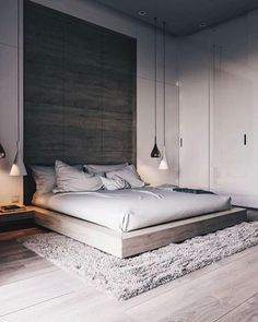 44 Stunning Minimalist Modern Master Bedroom Design Best Ideas is part of Minimalist bedroom design - Would you like to design the perfect modern master bedroom Do you find that you have plenty of space to […] Modern Bedroom Design, Master Bedroom Design, Contemporary Bedroom, Home Decor Bedroom, Diy Bedroom, Bedroom Loft, Bedroom Inspo, Bedroom Design Minimalist, Master Bedrooms