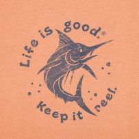 """Men's Marlin print for """"Life is Good"""" Paradise Quotes, Nautical Wallpaper, Fun Outdoor Activities, Keep It Real, Positive Words, Best Beer, Fishing Tips, Nautical Theme, Vacation Trips"""
