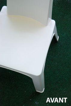 1000 id es sur peindre des chaises en plastique sur for Peindre plastique bombe