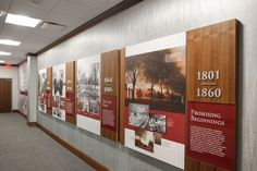 University of South Carolina Alumni Center Display Design, Booth Design, Wall Design, Layout Design, Sign Design, Museum Exhibition Design, Exhibition Display, Design Museum, Office Graphics