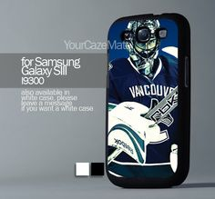 Vancouver Canuck Roberto For Samsung Galaxy S3 Hard Plastic Black Case | YourCazeMate - Accessories on ArtFire