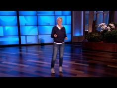 """Ellen DeGeneres has reacted to """"Saturday Night Live"""" take on herself. In a November 13 episode of her talk show """"The Ellen DeGeneres Show"""", the comedian made a few quips when sharing her feelings about being impersonated. Ellen Degeneres Show, Pink Workout, The Ellen Show, Prank Videos, Monologues, Saturday Night Live, Funny Pranks, Just For Laughs, Make Me Smile"""