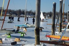 6. Red Bank is the ice boating capital of the country.