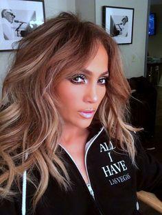 Pinterest: DEBORAHPRAHA ♥️ Jennifer lopez all I have las vegas show makeup #jlo #jenniferlopez #makeup
