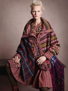 Via Via Via Chanel Pre-Fall 13 – UK Vogue Related Post Patchwork Fair Isles Moth Ridden