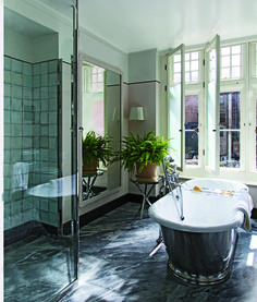 Transform your bathroom into your home's most serene space with these quick and painless tricks.   archdigest.com