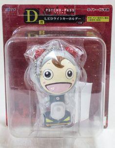 Psycho-Pass Commisa Taro LED Light Key Chain Taito Kuji JAPAN ANIME