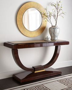 """""""Rosemead"""" Console by Maitland-Smith at Horchow."""