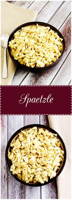 Spaetzle is a traditional German egg dumpling that pairs perfectly with chicken paprikash and other gravy dishes.  It's quick, easy, and a favorite in my kitchen. via @berlyskitchen