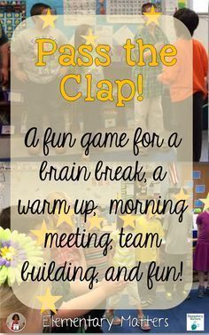Trendy Team Building Games For Kids Classroom Ice Breakers Games For Kids Classroom, Building Games For Kids, Group Games For Kids, Class Games, Student Games, Team Games, Group Activities, Name Games For Kids, Teamwork Games