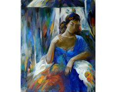 Under umbrella by Anatoly Rozhansky now featured on ArtDealer