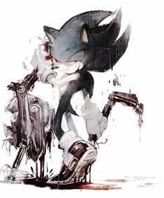 Dark Sonic by aoki6311.deviantart.com on @DeviantArt