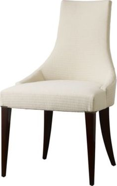 After the French Revolution, the curved back directoire chair spoke the language of popular optimism, reinvented itself with an elitist accent during the height of Art Deco luxury, and now draws runway whispers in a leaner and more modern rendition pushing the limits of the silhouette.