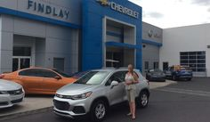 Janice, we're so excited for all the places you'll go in your 2017 CHEVROLET TRAX!  Safe travels and best wishes on behalf of Findlay Motor Company and DAVID PHILLIPS.