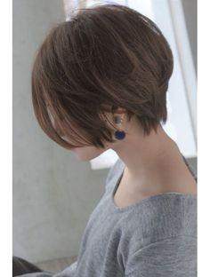 メルバイピュール(mer by PUUR)大人綺麗なショートヘア 【セミウェット、パーソナルカラー】