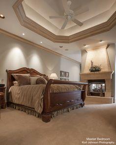 Master Bedroom in Kansas Home http://www.kurtjohnsonphotography.com/