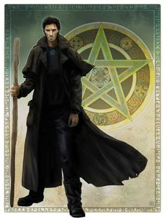 Harry Dresden from The Dresden Files