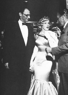 June 13th 1957: Marilyn Monroe and Arthur Miller at the premiere of The Prince and the Showgirl.